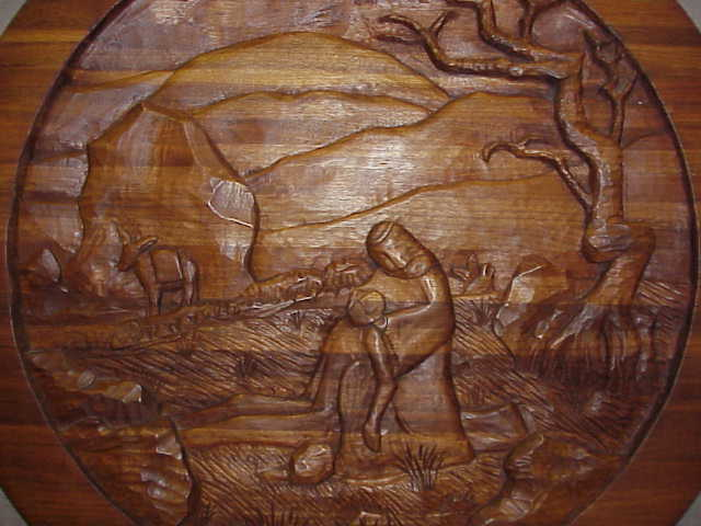 Wood carving interview with kevin midthun